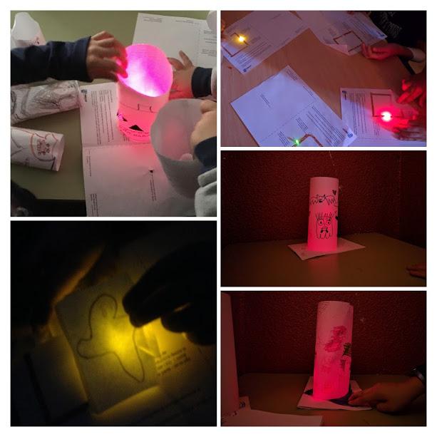 Paper circuits Robimp. Primaria.