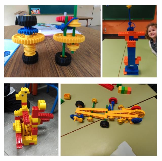 Lego Primeras Máquinas. Robimp. Infantil.