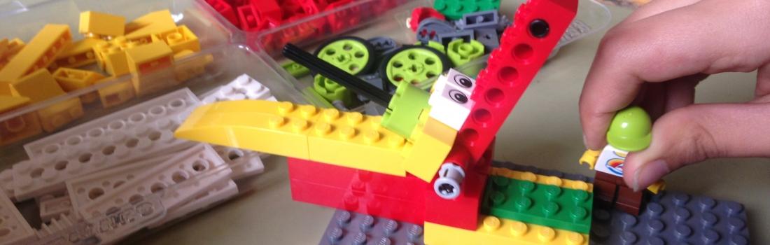 Robótica con Legowedo en Ntra Sra de la Paloma