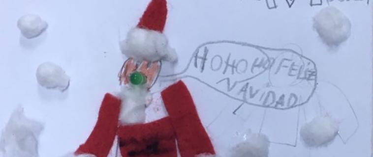 Una actividad muy navideña